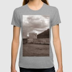 Abandoned Zone of Industry - Sicily - vacancy zine Womens Fitted Tee Tri-Grey SMALL