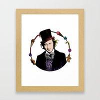 Merry Christmas From The… Framed Art Print