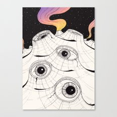 planets have ears Canvas Print
