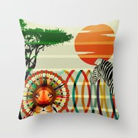 One Of Us... Throw Pillow