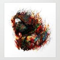 Winter Soldier Art Print
