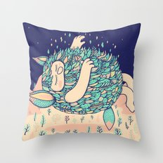 Lightness Throw Pillow
