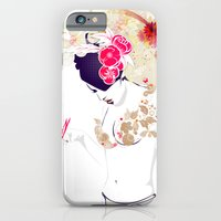 iPhone & iPod Case featuring Madame Butterfly by DesignDinamique