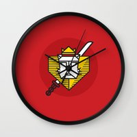 Gryffindor House Crest Icon Wall Clock