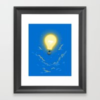 Let The Light Lead The W… Framed Art Print