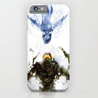 iPhone & iPod Case featuring Who's the Machine? by Justin Currie