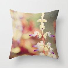 Autumn garden Throw Pillow