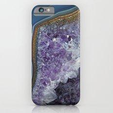 Amethyst Geode Agate iPhone 6 Slim Case