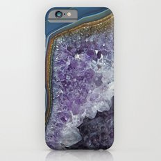Amethyst Geode Agate iPhone 6 Slim Case