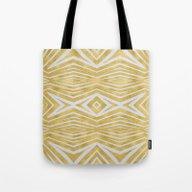 Golden Vision Tote Bag