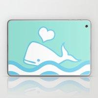 Whale Lover Laptop & iPad Skin