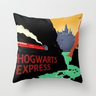 The Express Throw Pillow