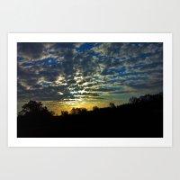 Sunrise Over South Georg… Art Print