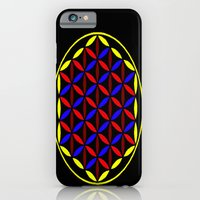 iPhone & iPod Case featuring FLOWER OF LIFE by Sacred Symmetry