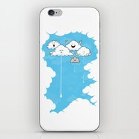 Young Clouds Fooling Aro… iPhone & iPod Skin