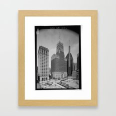Light Street, Baltimore Framed Art Print