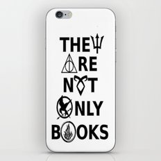 They Are Not Only Books iPhone & iPod Skin