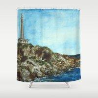 Cabo de Palos Shower Curtain