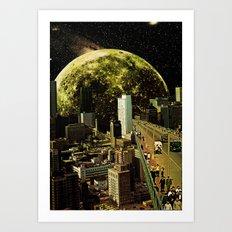 Lunar Connection Art Print