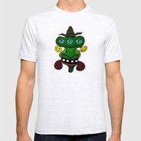 (Just another) Unsophisticated Hillbilly from Outer Space Mens Fitted Tee Ash Grey SMALL