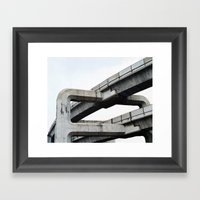 Concrete O1 Framed Art Print