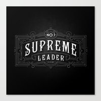 Supreme Leader Canvas Print