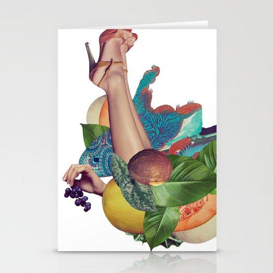 Candela Collage Stationery Card