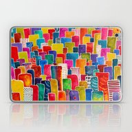 Houses Laptop & iPad Skin