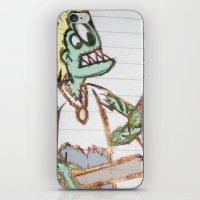 Frog Man iPhone & iPod Skin