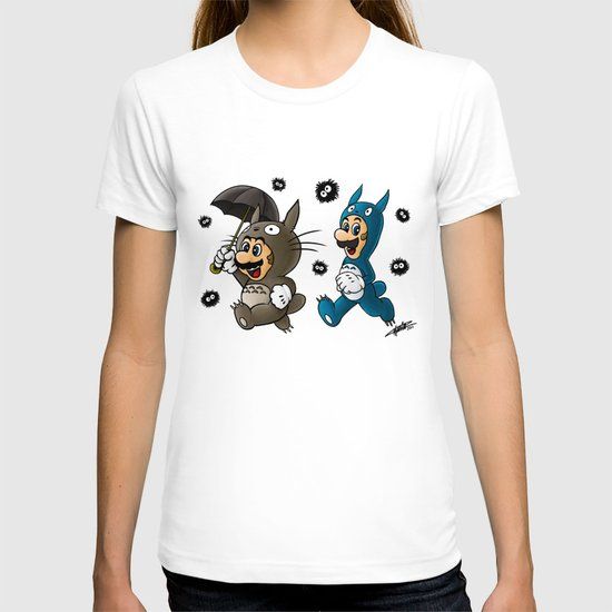 Super Totoro Bros. Alternative T-shirt