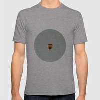 fly with me Mens Fitted Tee Athletic Grey SMALL