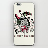 Laughter.. iPhone & iPod Skin