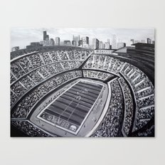 Chicago Bears Soldier Fi… Canvas Print