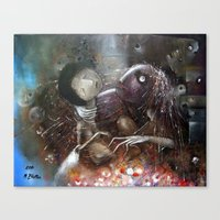 Tetany From Panic Attack… Canvas Print