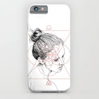 iPhone & iPod Case featuring Face Facts II by Tom Kitchen