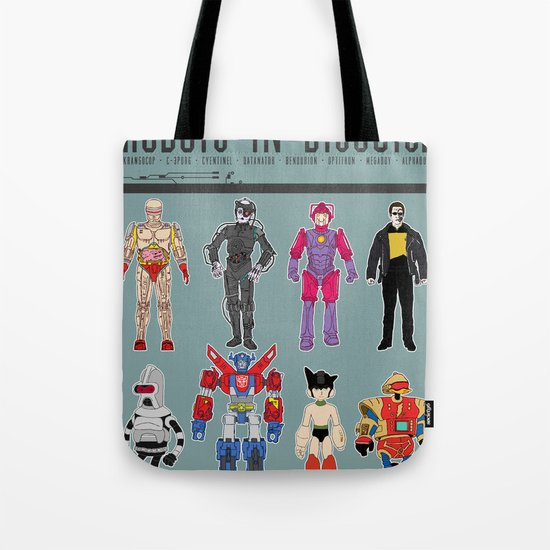 Robots in Disguise Tote Bag