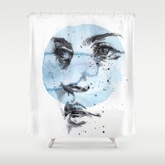 small piece 27 Shower Curtain