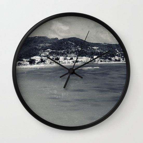 Old-New St. Maarten Wall Clock