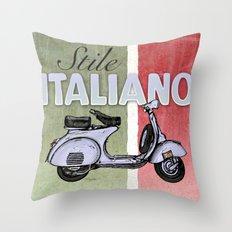 Stile Italiano Throw Pillow