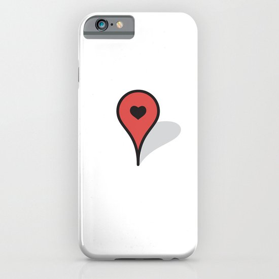 Where The Heart Is iPhone & iPod Case