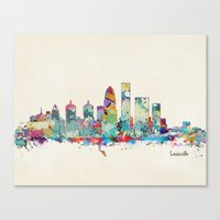 Louisville Kentucky Skyl… Canvas Print
