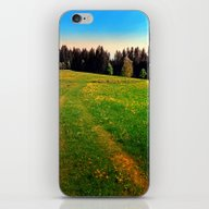 Outdoors In Sunny Spring iPhone & iPod Skin