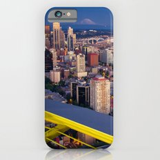 Seattle in the Evening, from the Space Needle iPhone 6 Slim Case