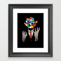 Mind Game Framed Art Print
