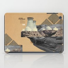 The future a time to reminisce. (mixed media) iPad Case