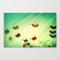 Fly around Canvas Print