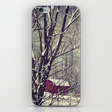 Out Behind The Barn  iPhone & iPod Skin