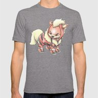 K-9 Unit Mens Fitted Tee Tri-Grey SMALL