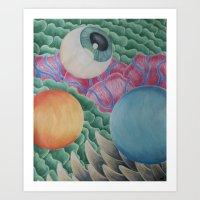 Formlessness Art Print