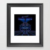 Tigertron  Framed Art Print